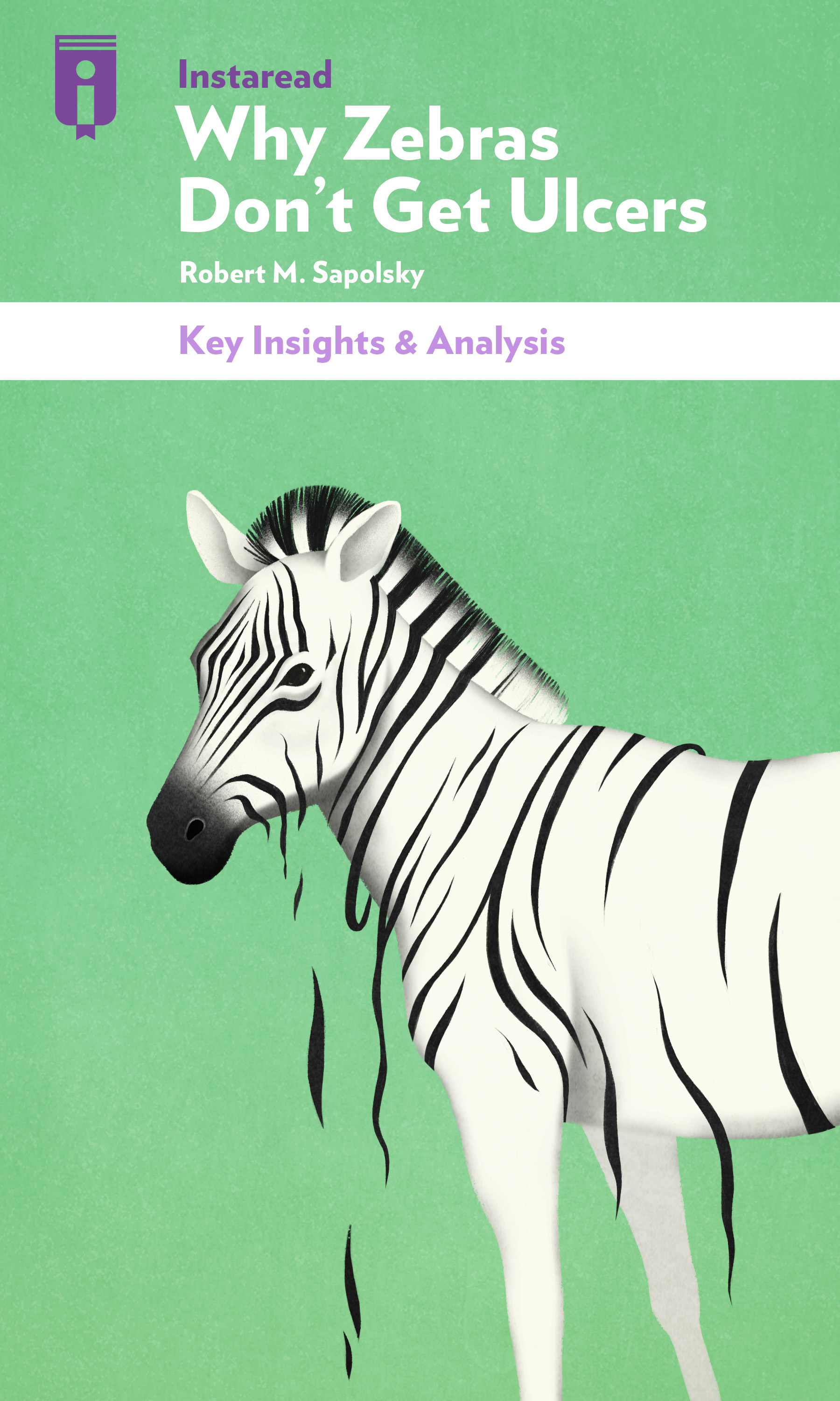 "Book Cover for ""Why Zebras Don't Get Ulcers"""