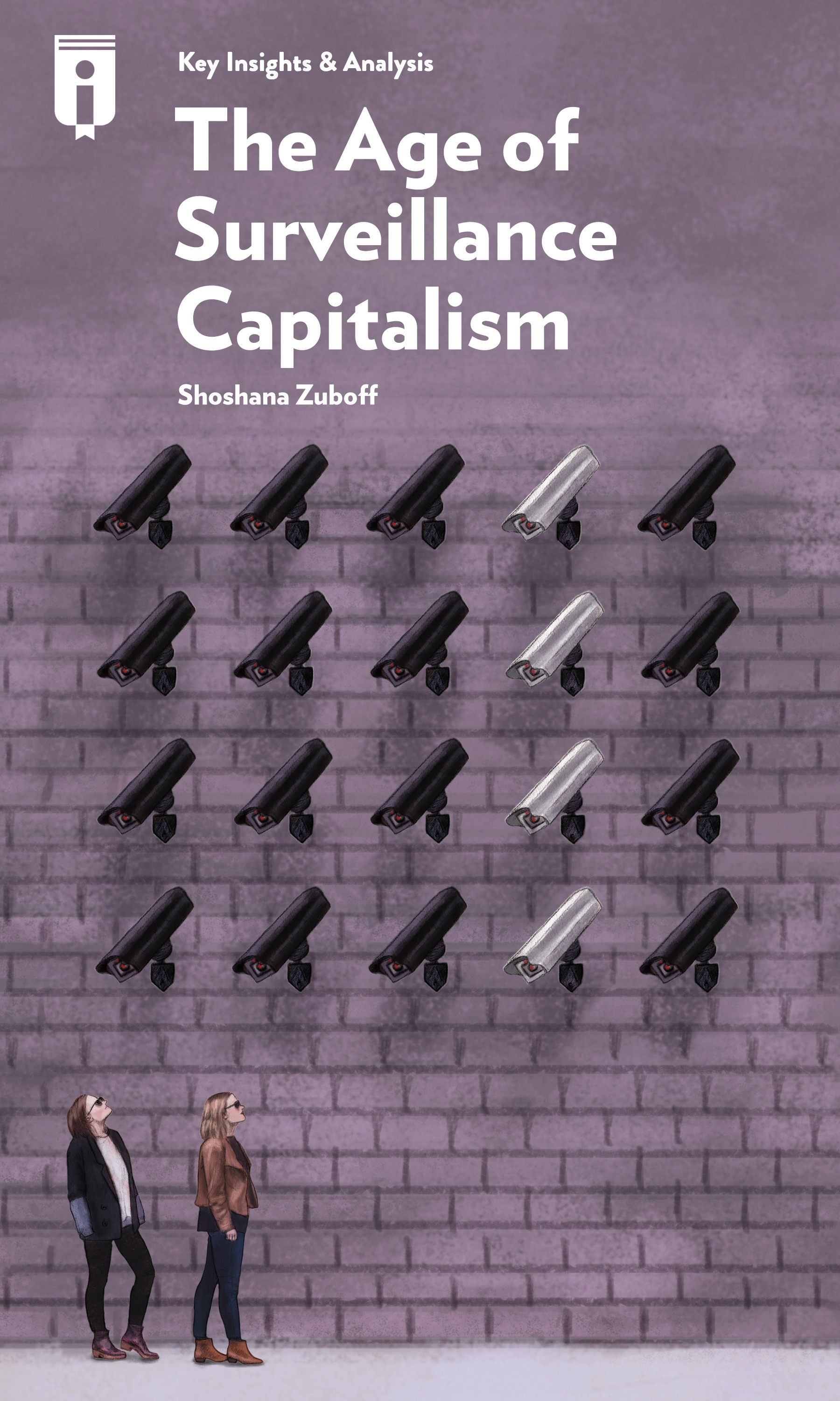 """Book Cover for """"The Age of Surveillance Capitalism"""""""