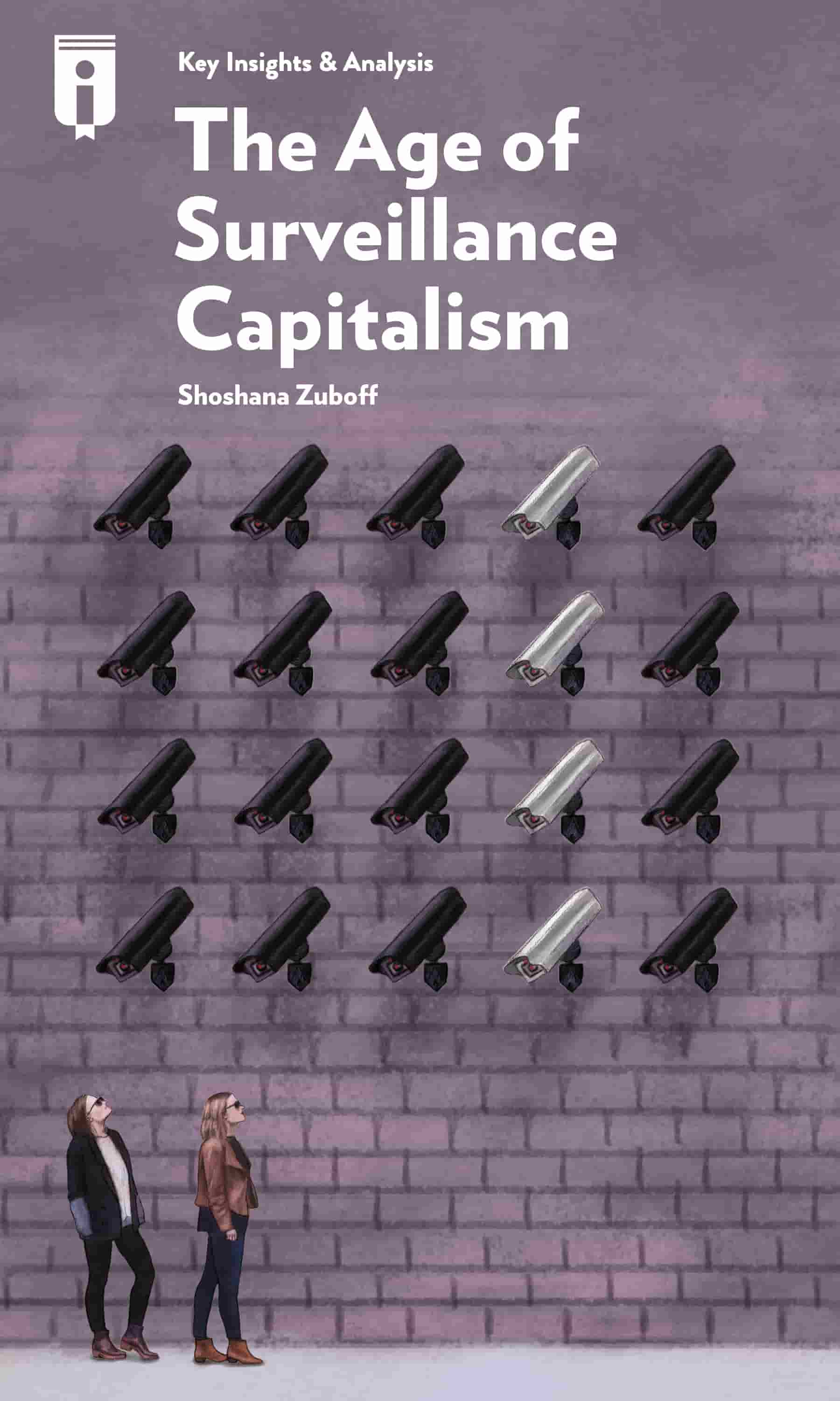 "Book Cover for ""The Age of Surveillance Capitalism"""