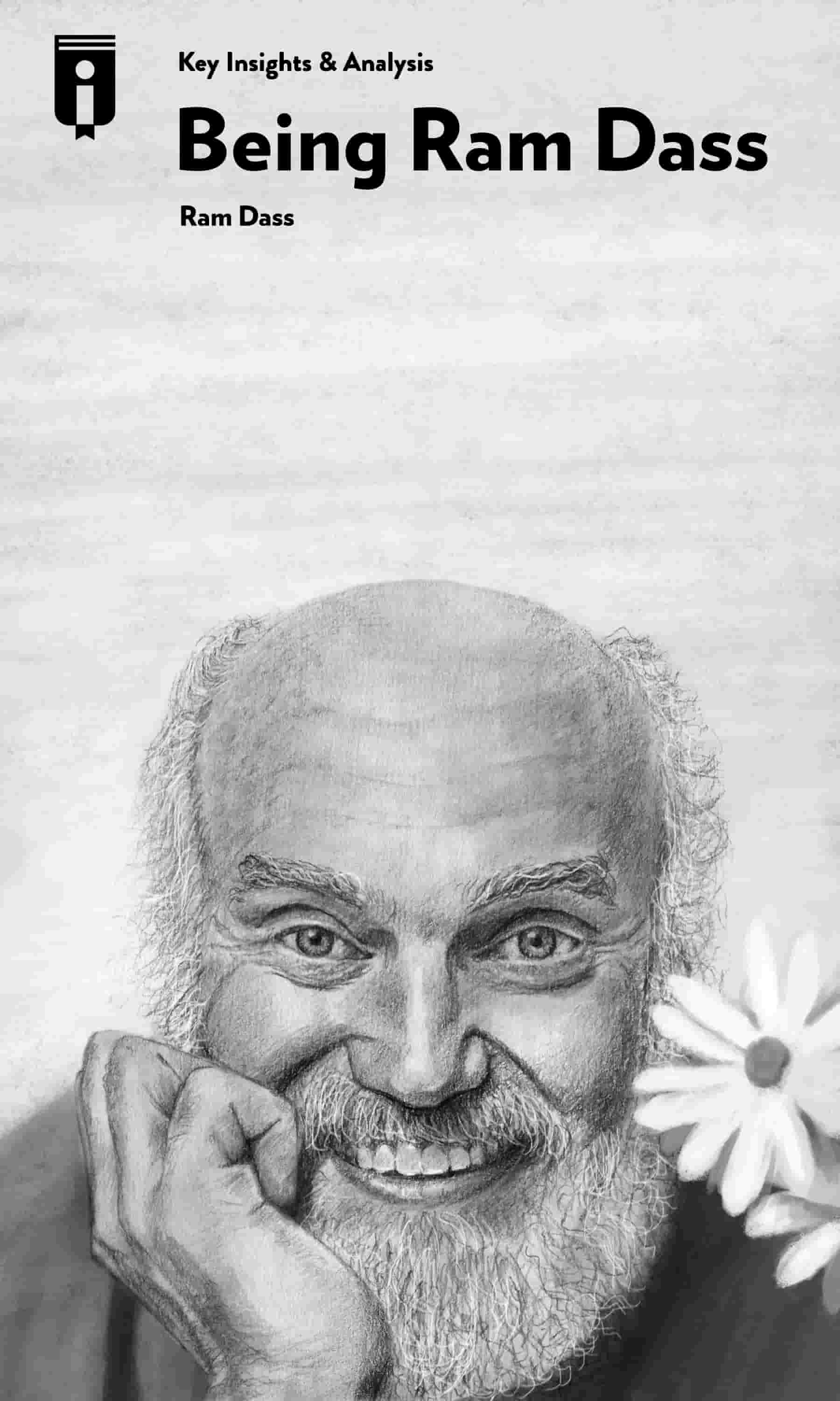 "Book Cover for ""Being Ram Dass"""