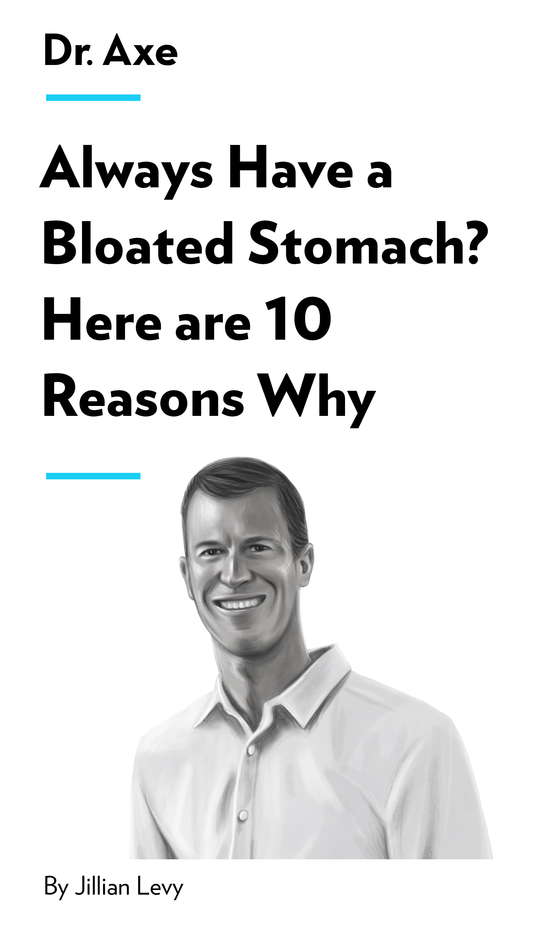 """Book Cover for """"Always Have A Bloated Stomach? Here Are 10 Reasons Why"""""""