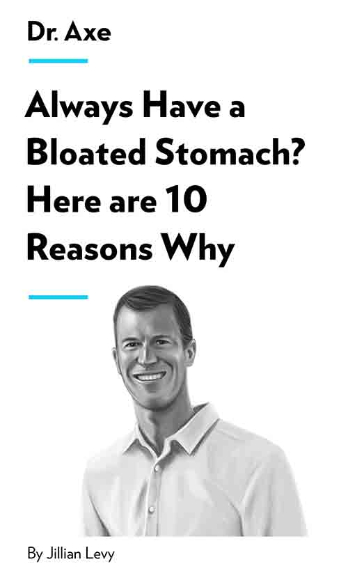 "Book Cover for ""Always Have A Bloated Stomach? Here Are 10 Reasons Why"""
