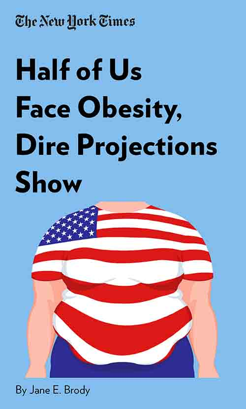 "Book Cover for ""Half of Us Face Obesity, Dire Projections Show"""