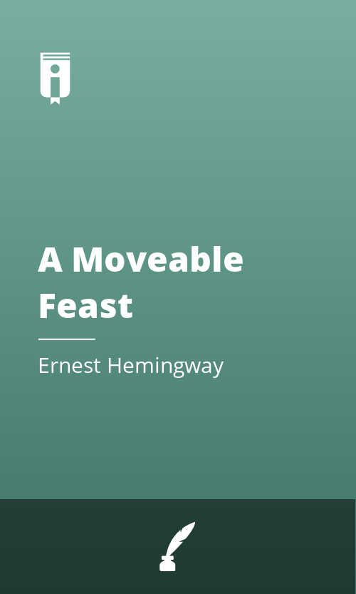 """Book Cover for """"A Moveable Feast"""""""