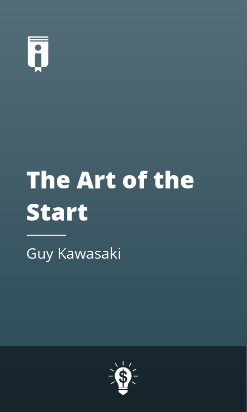 "Book Cover for ""The Art of the Start"""