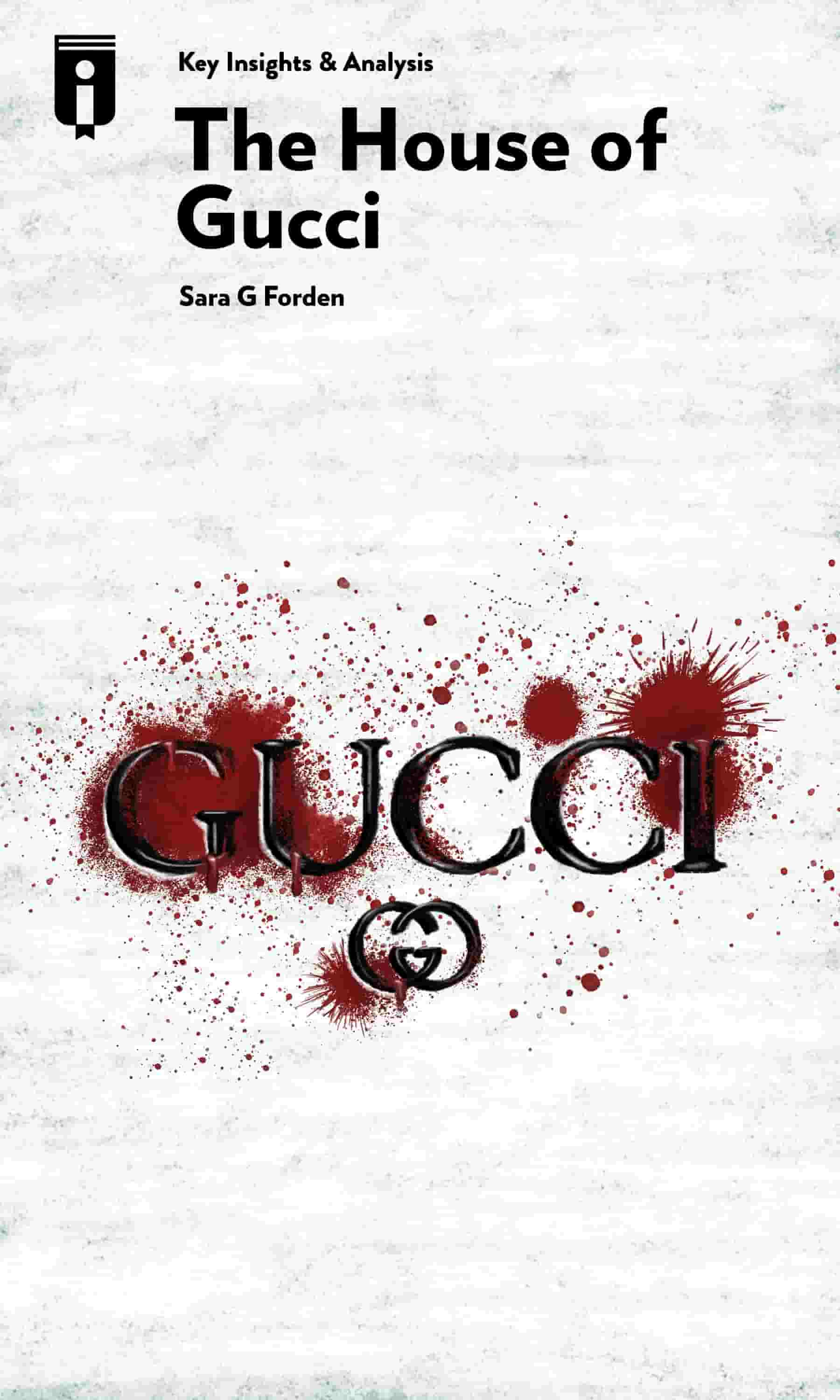 """Book Cover for """"The House of Gucci"""""""