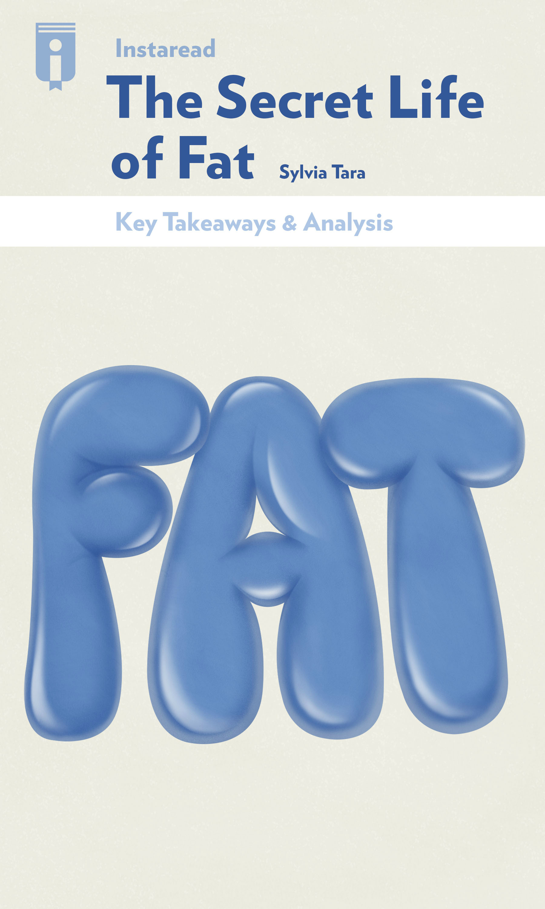 """Book Cover for """"The Secret Life of Fat"""""""