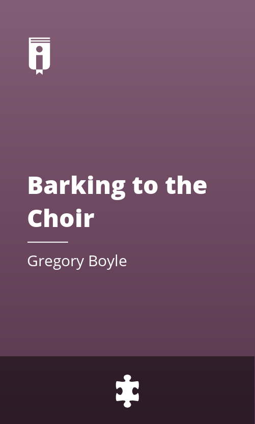 """Book Cover for """"Barking to the Choir"""""""