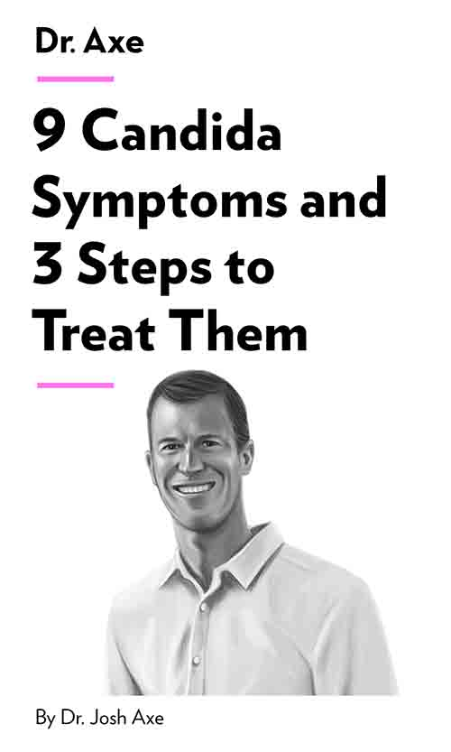 "Book Cover for ""9 Candida Symptoms and 3 Steps to Treat Them"""