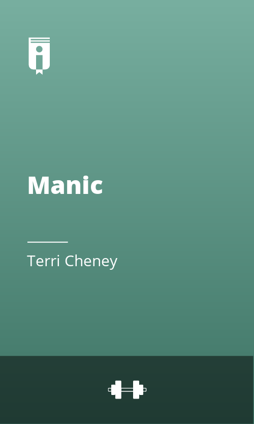 """Book Cover for """"Manic"""""""