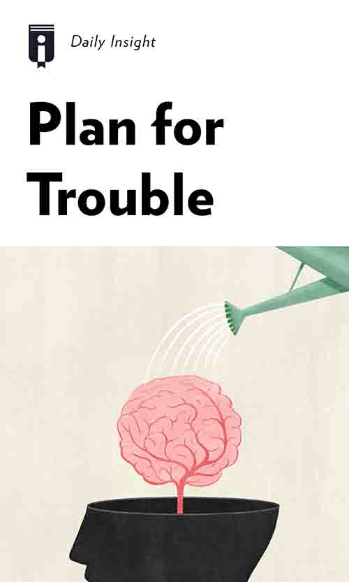 "Book Cover for ""Plan for Trouble"""