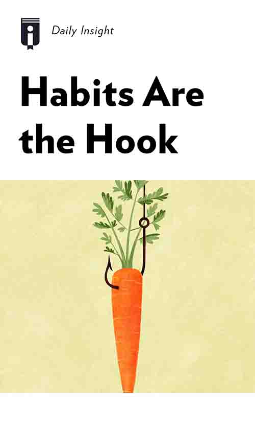 "Book Cover for ""Habits Are the Hook"""