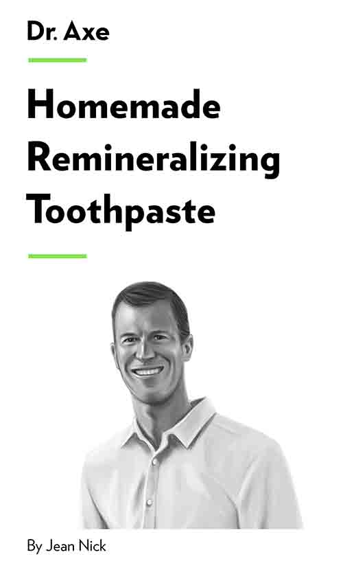 "Book Cover for ""Homemade Remineralizing Toothpaste"""