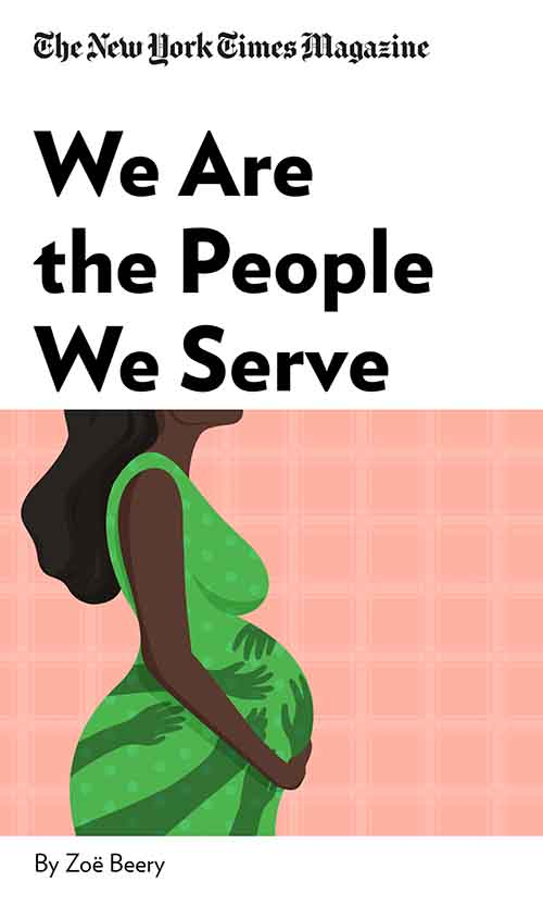 "Book Cover for ""We Are the People We Serve"""