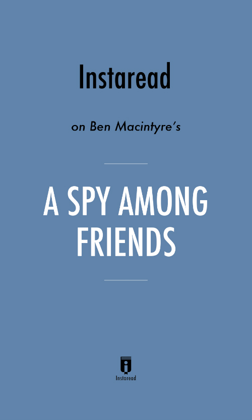 "Book Cover for ""A Spy Among Friends"""