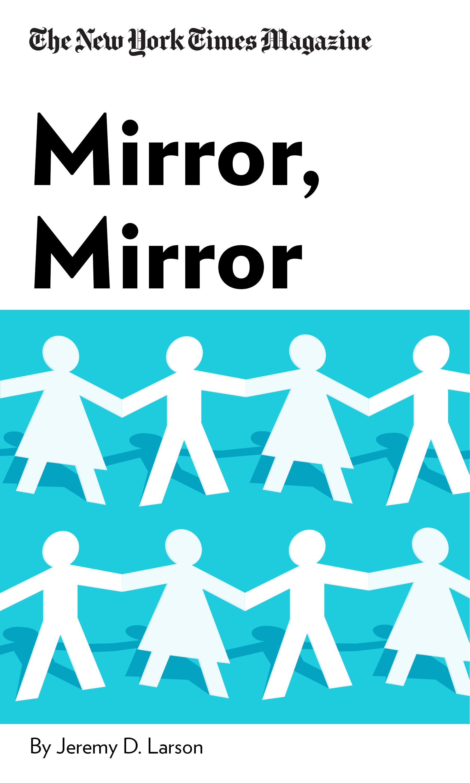 "Book Cover for ""Mirror, Mirror"""