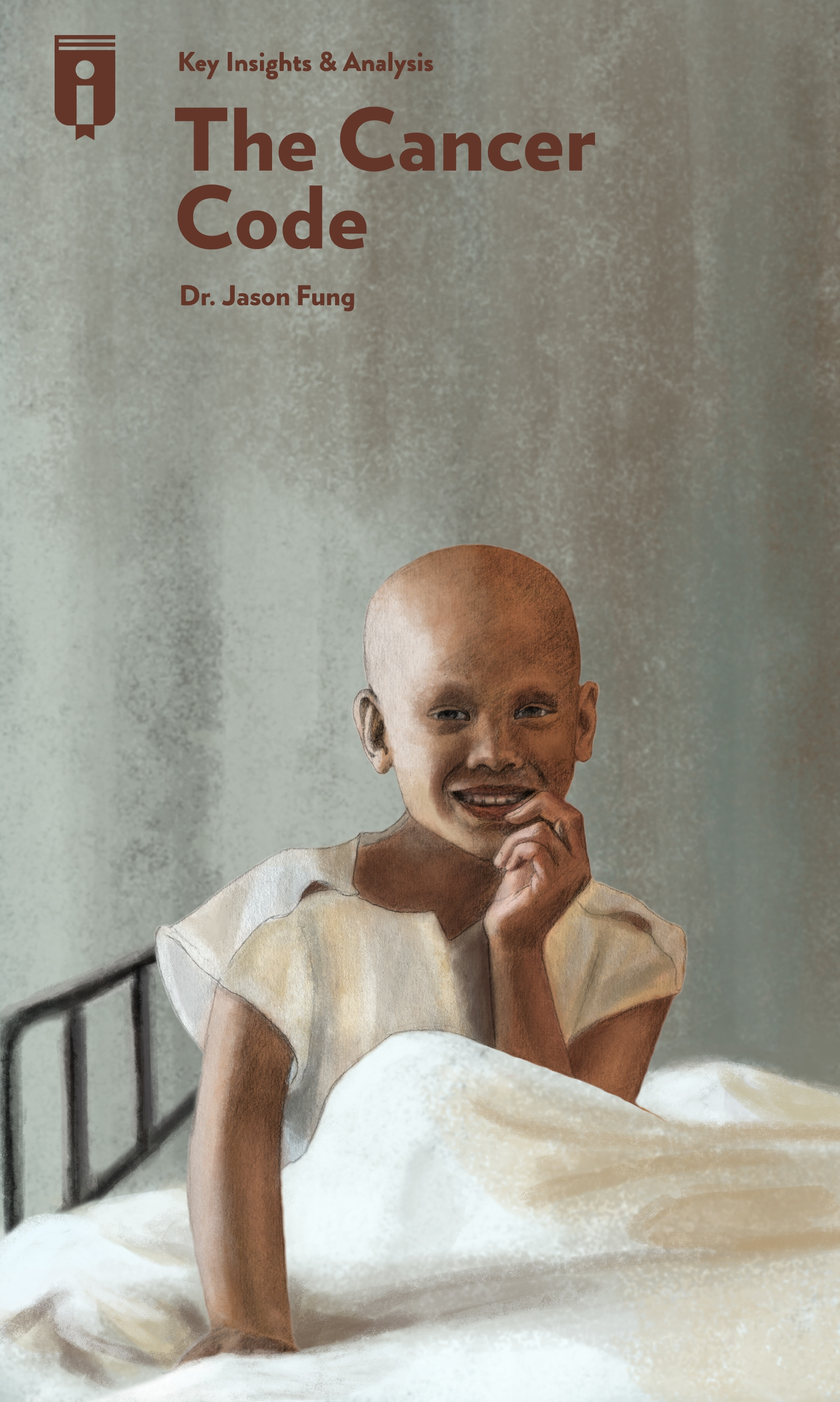 """Book Cover for """"The Cancer Code"""""""