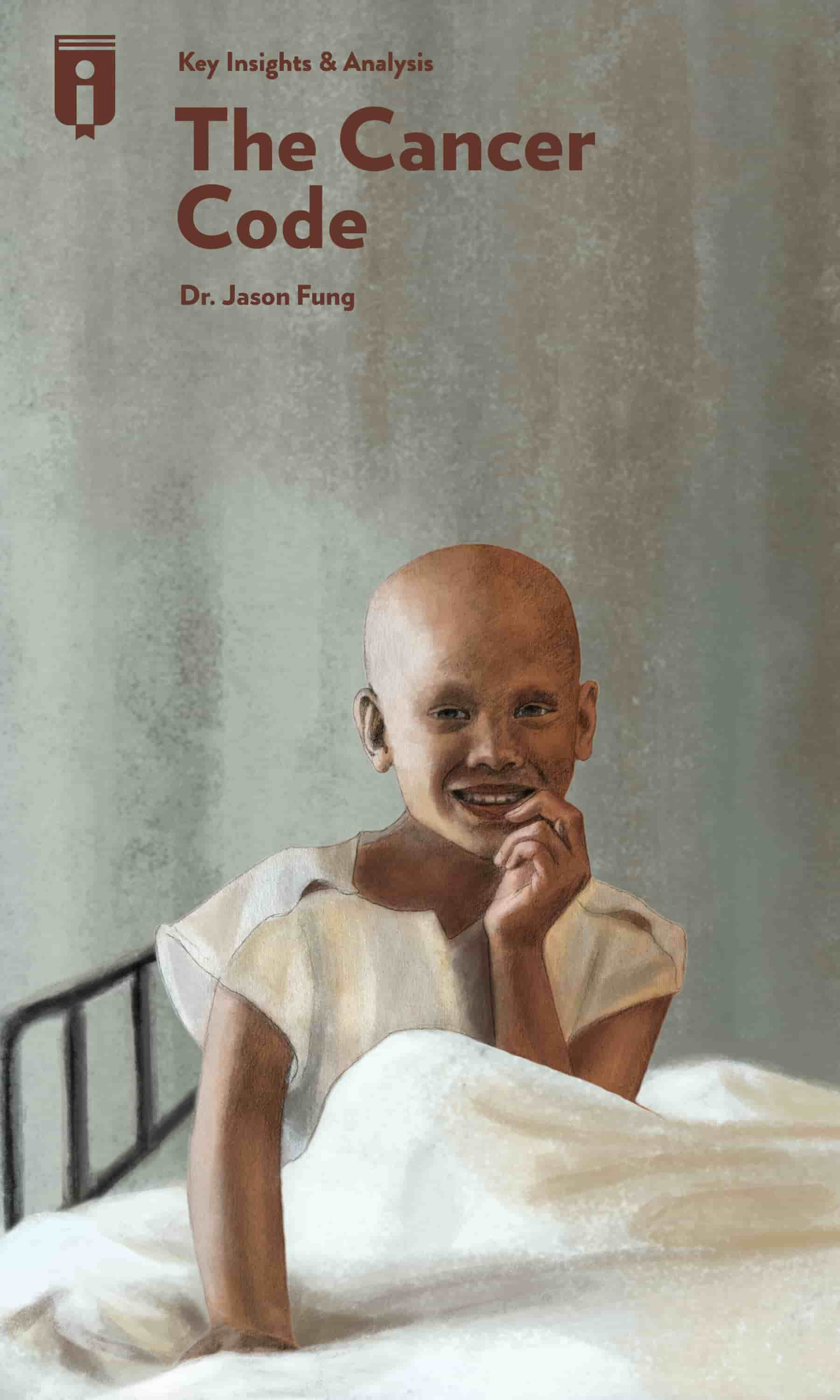 "Book Cover for ""The Cancer Code"""