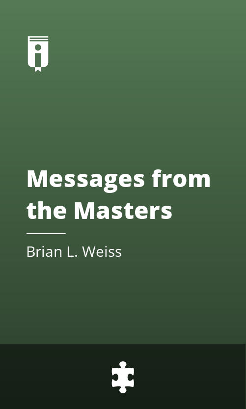 """Book Cover for """"Messages from the Masters"""""""