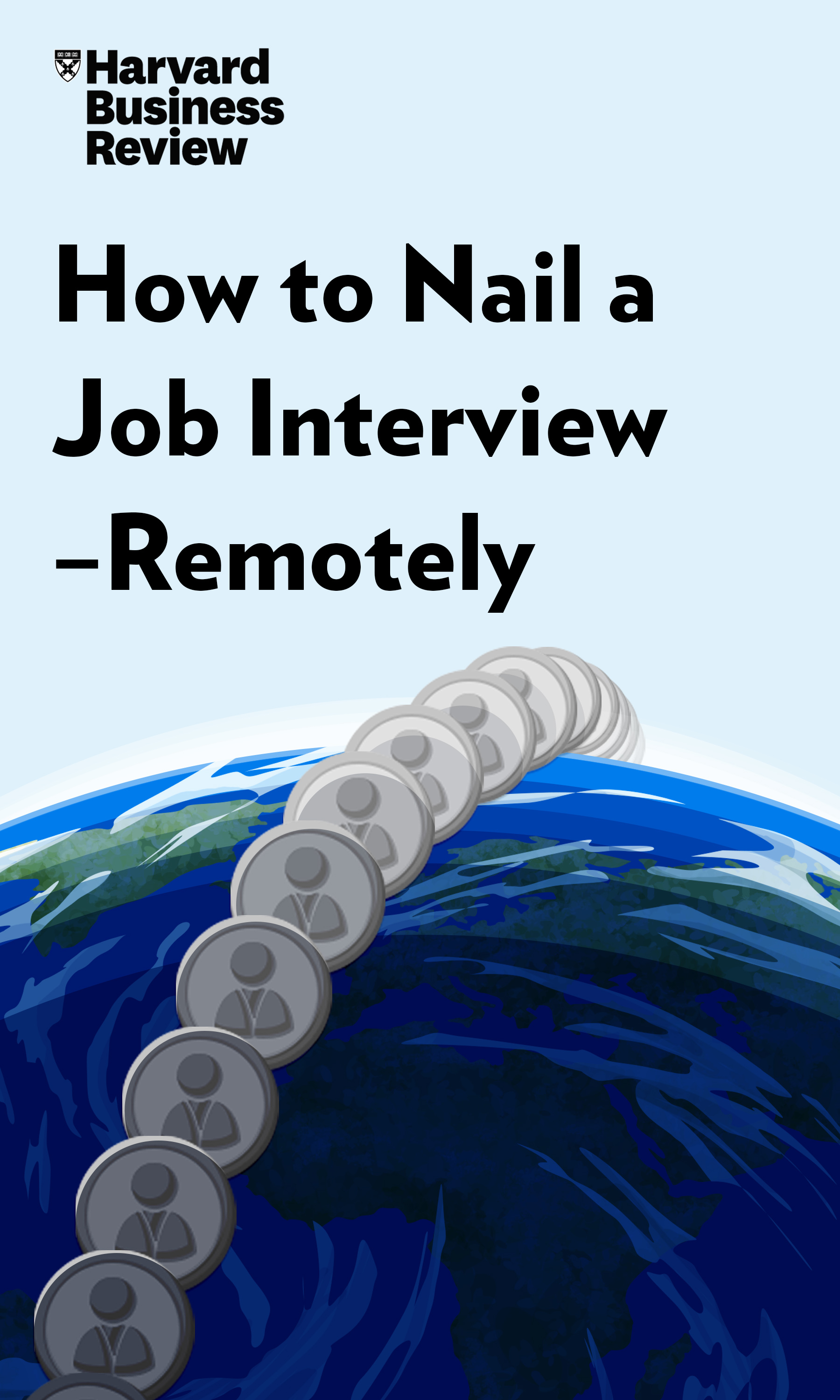 "Book Cover for ""How to Nail a Job Interview—Remotely"""