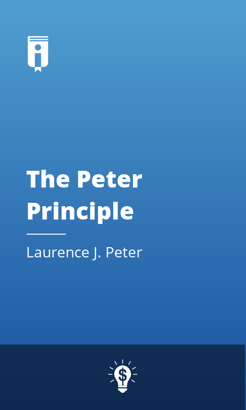 """Book Cover for """"The Peter Principle"""""""