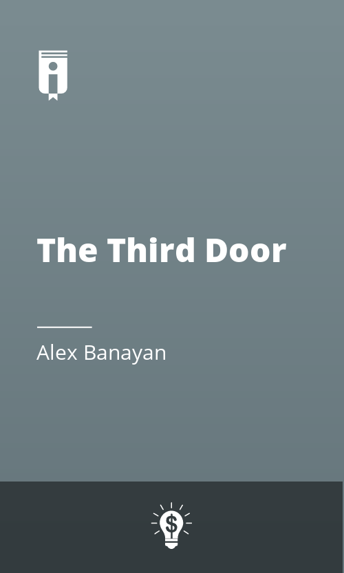 """Book Cover for """"The Third Door"""""""