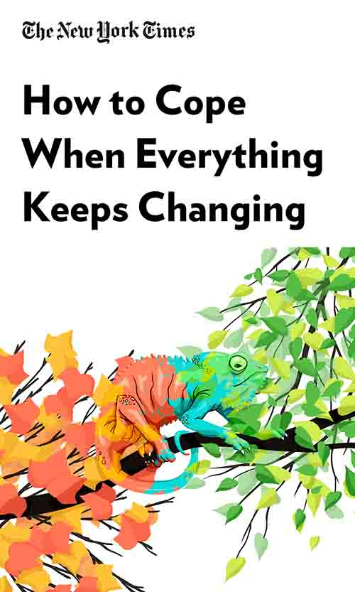 "Book Cover for ""How to Cope When Everything Keeps Changing"""