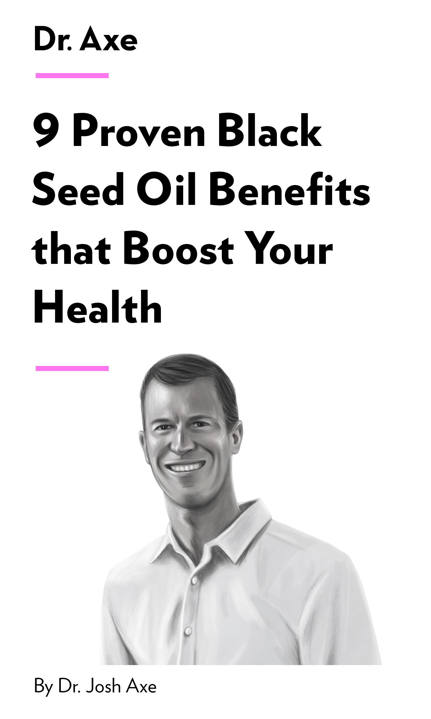 """Book Cover for """"9 Proven Black Seed Oil Benefits that Boost Your Health"""""""