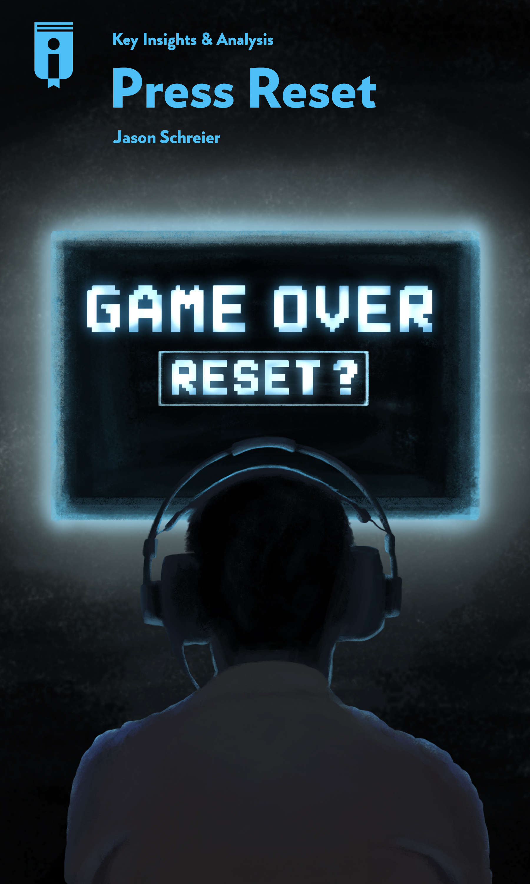"""Book Cover for """"Press Reset"""""""