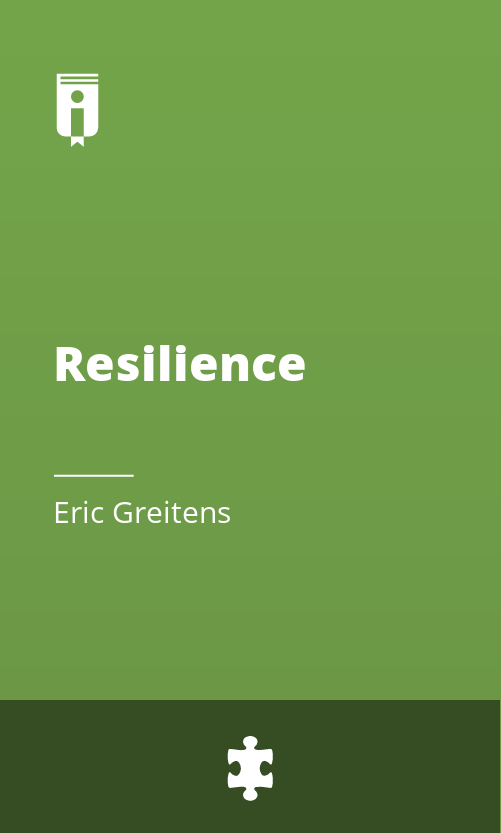 """Book Cover for """"Resilience"""""""