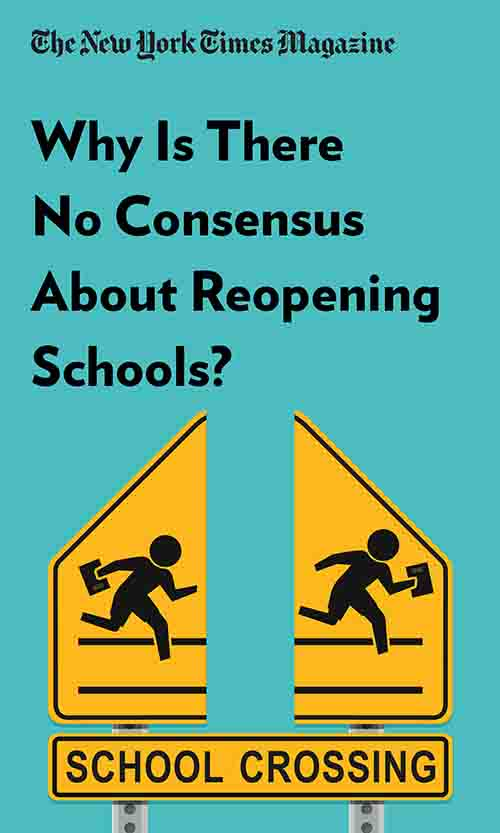 "Book Cover for ""Why Is There No Consensus About Reopening Schools?"""
