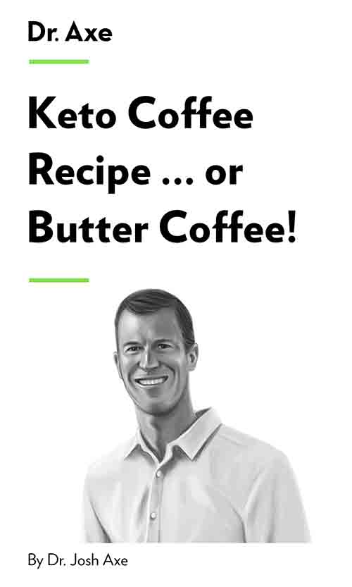 "Book Cover for ""Keto Coffee Recipe … or Butter Coffee!"""