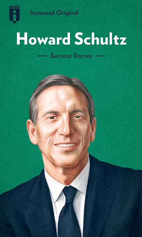 "Book Cover for ""Howard Schultz"""