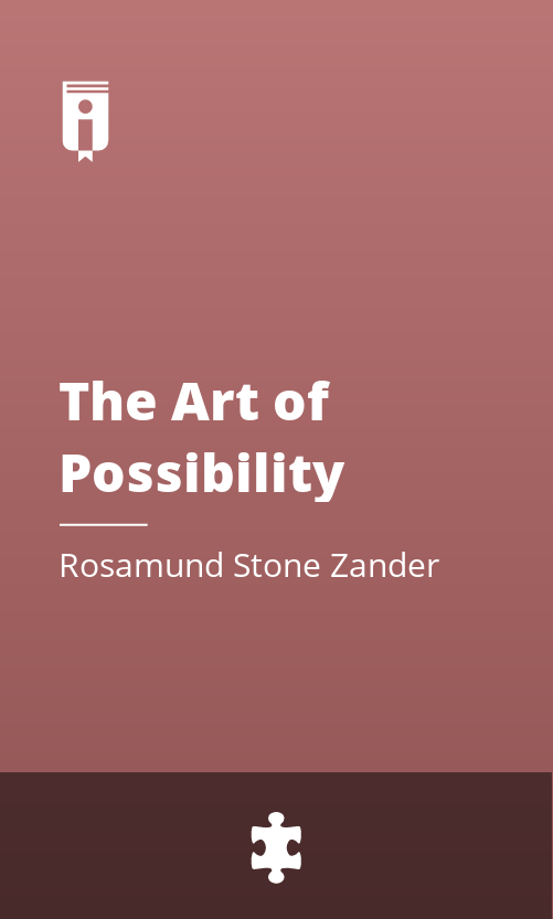 """Book Cover for """"The Art of Possibility"""""""