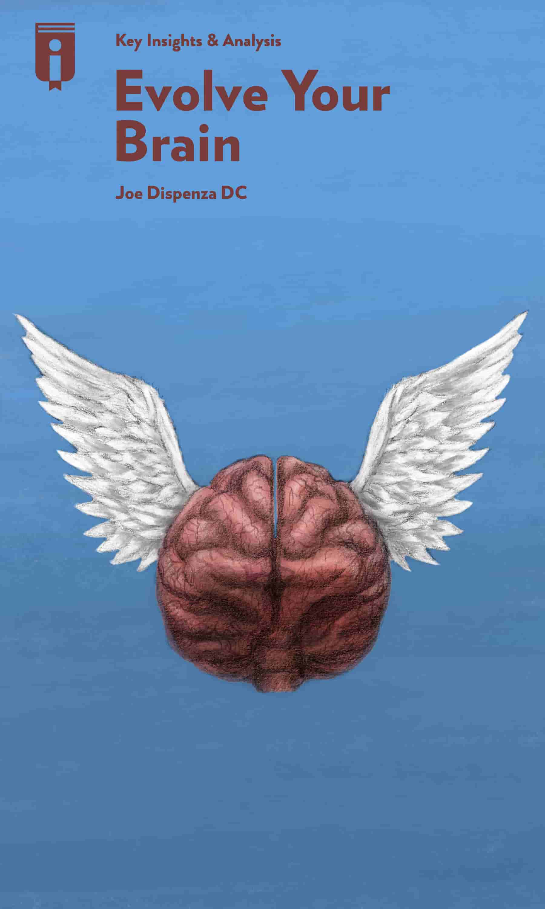 "Book Cover for ""Evolve Your Brain"""