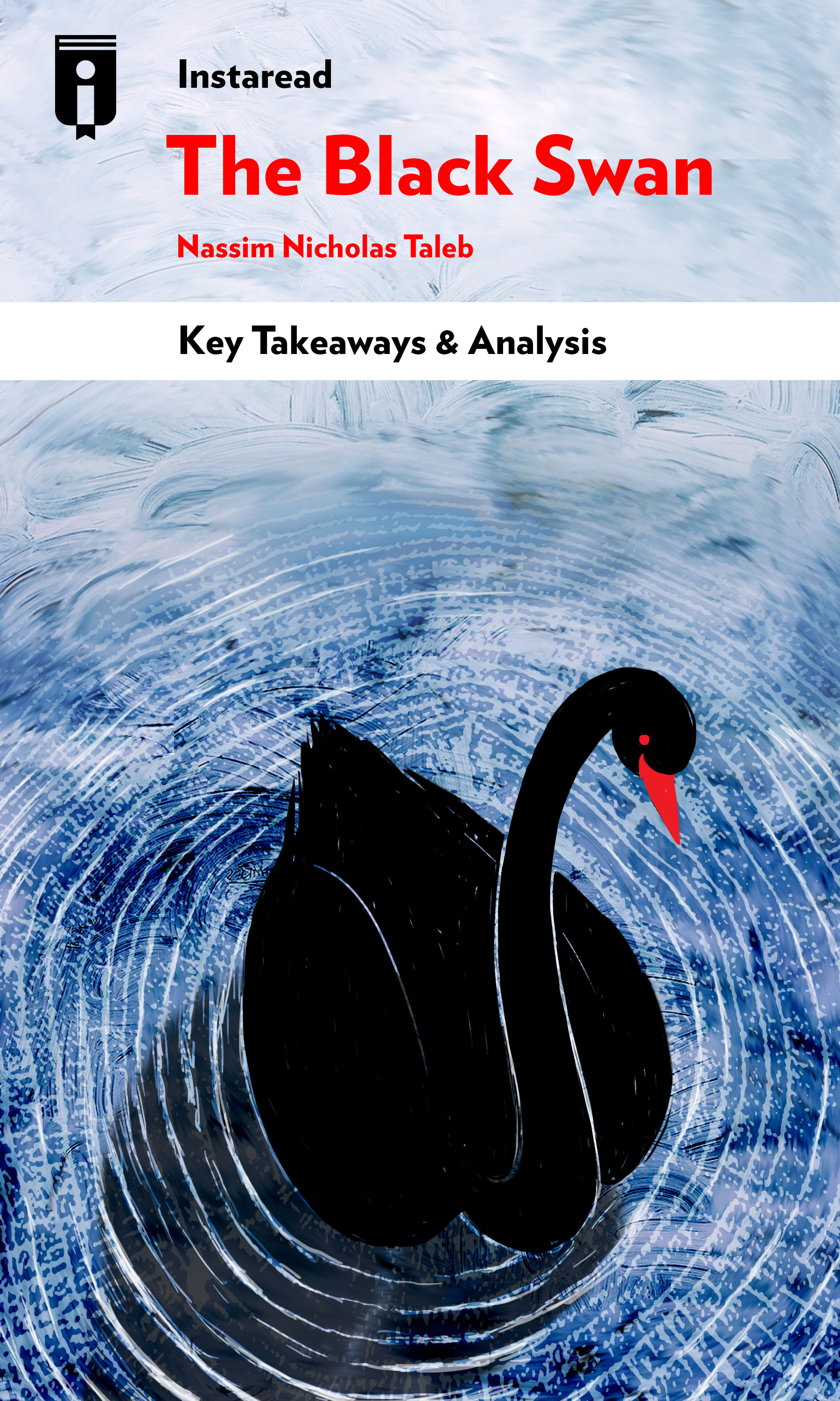 "Book Cover for ""The Black Swan"""
