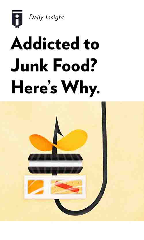 "Book Cover for ""Addicted to Junk Food? Here's Why"""