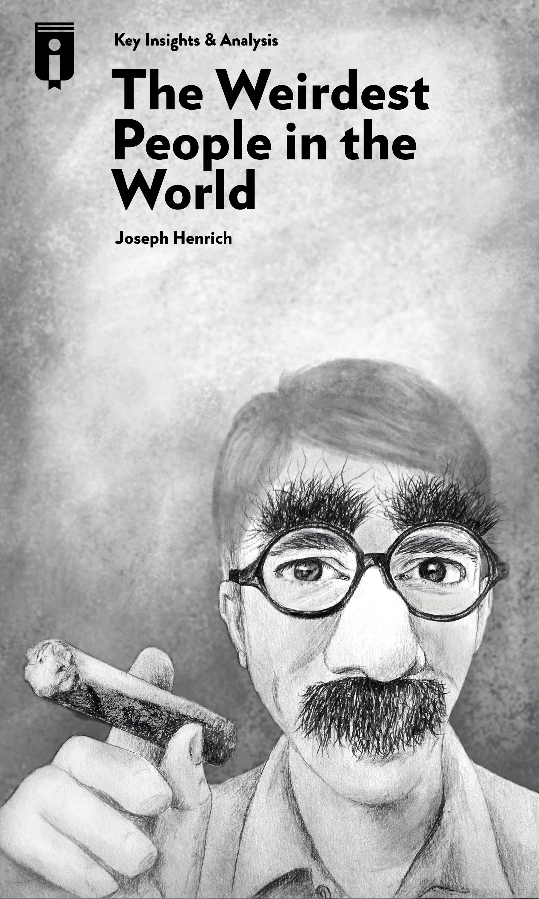 """Book Cover for """"The WEIRDest People in the World"""""""