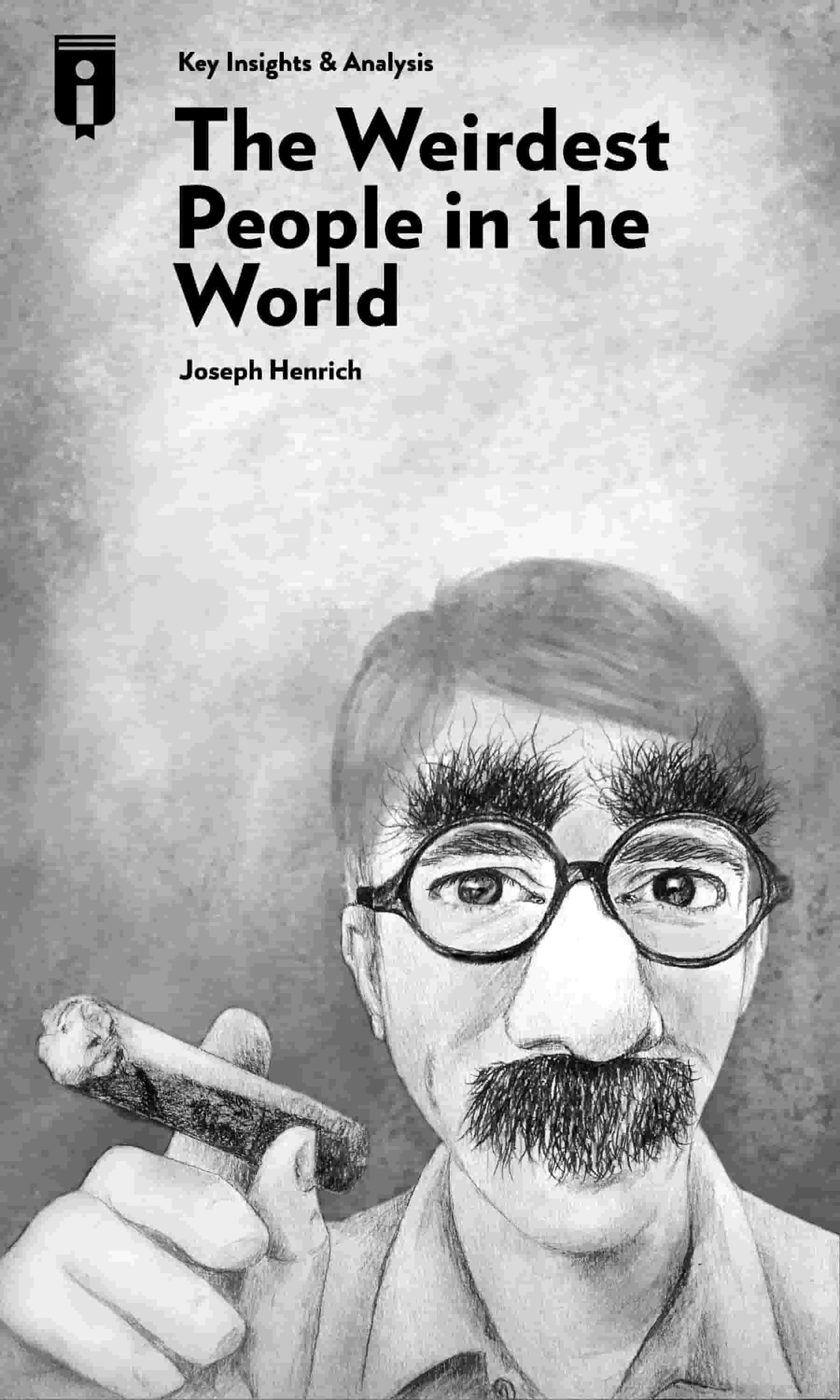 "Book Cover for ""The WEIRDest People in the World"""