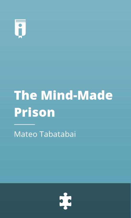 """Book Cover for """"The Mind-Made Prison"""""""
