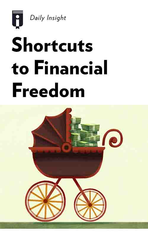 "Book Cover for ""Shortcuts to Financial Freedom"""