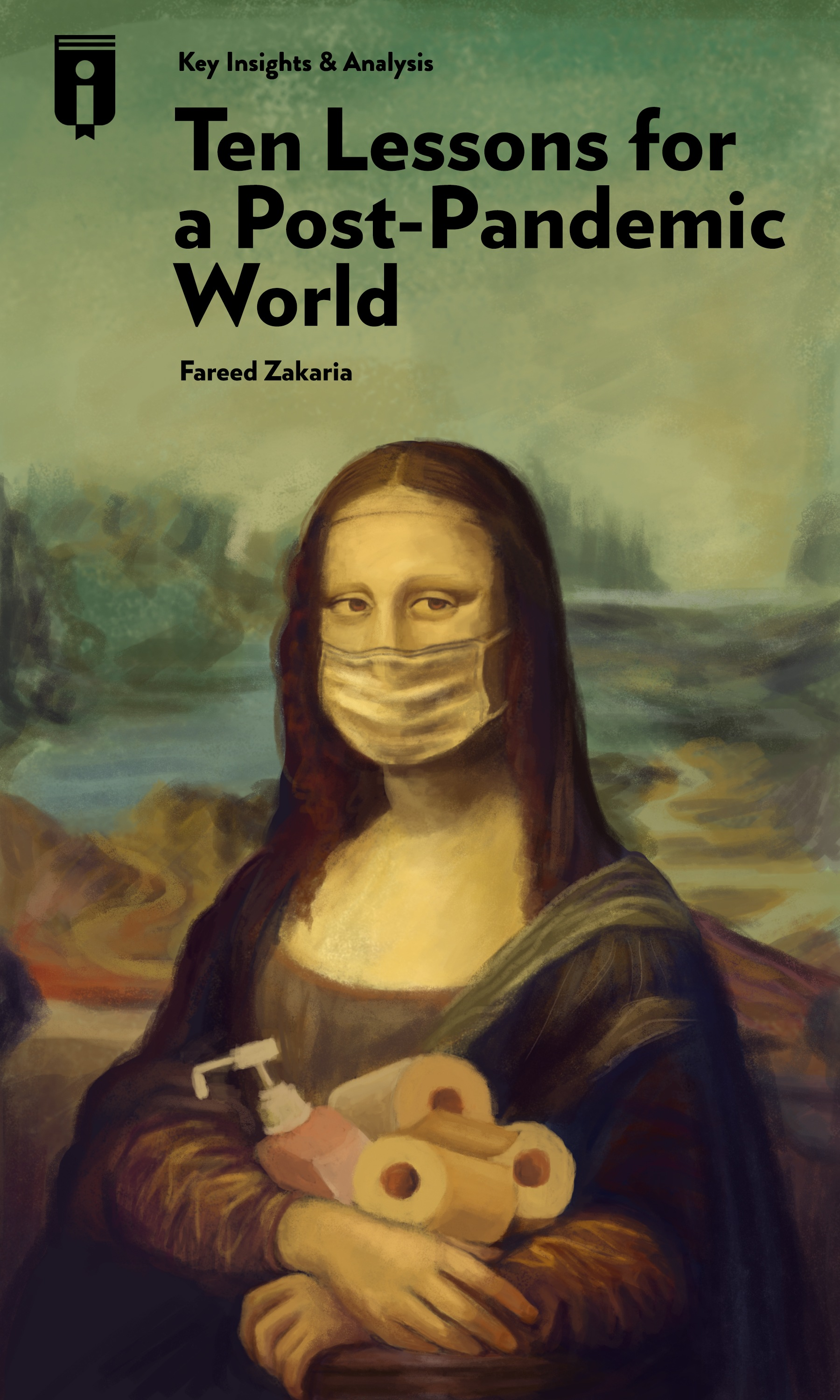 """Book Cover for """"Ten Lessons for a Post-Pandemic World"""""""