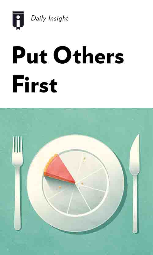 "Book Cover for ""Put Others First"""