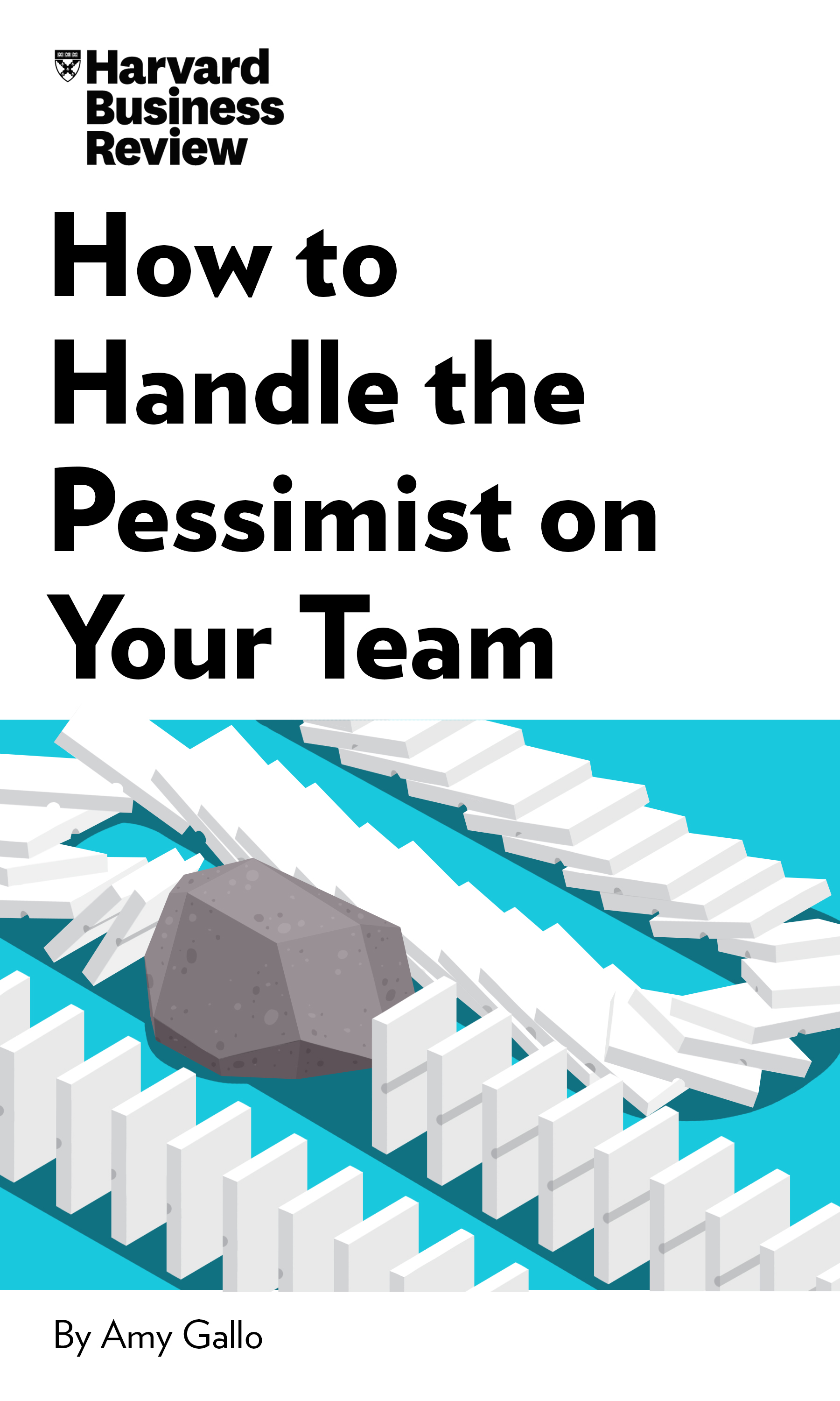 "Book Cover for ""How to Handle the Pessimist on Your Team"""