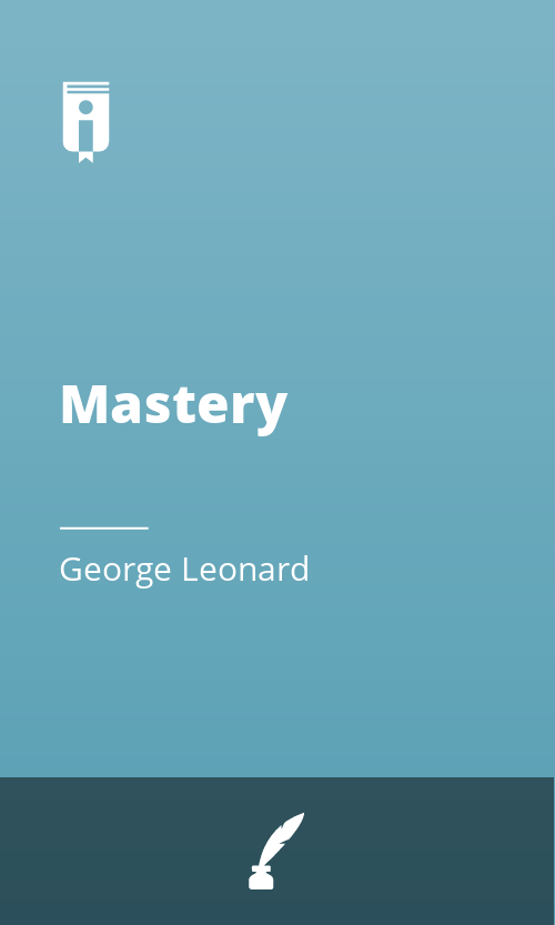"Book Cover for ""Mastery"""