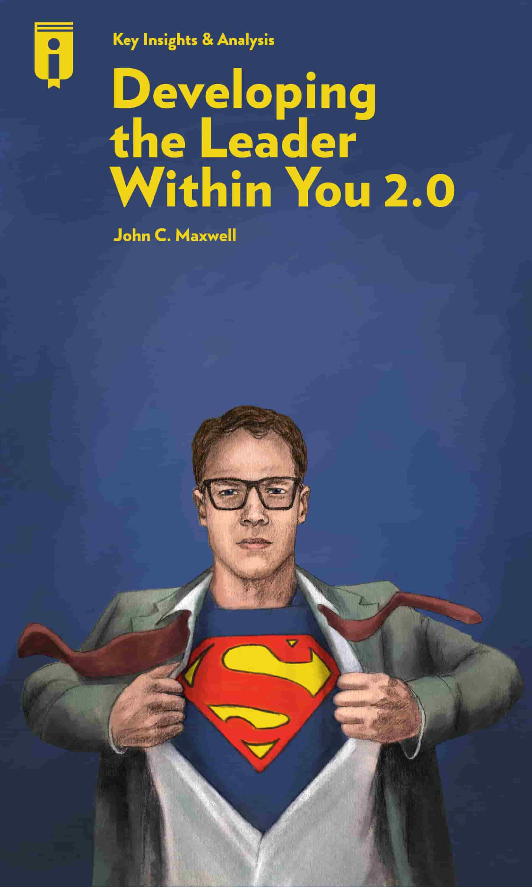 "Book Cover for ""Developing the Leader Within You 2.0"""