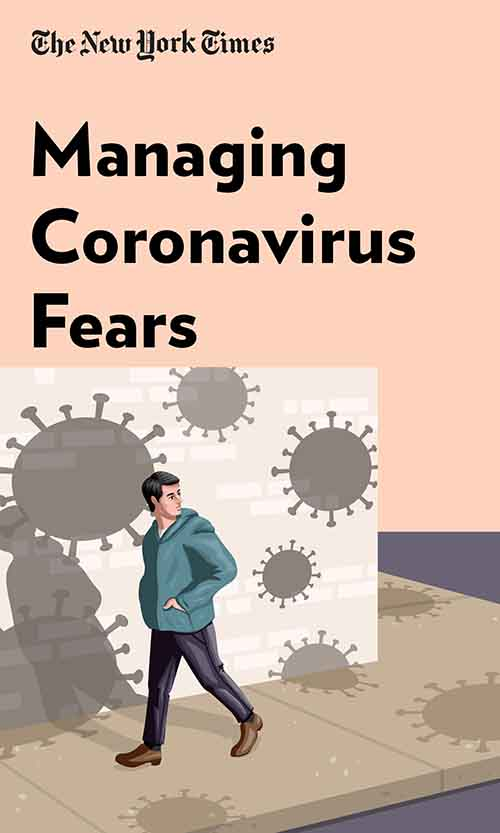 "Book Cover for ""Managing Coronavirus Fears"""