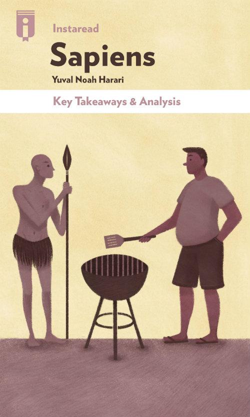 "Book Cover for ""Sapiens"""