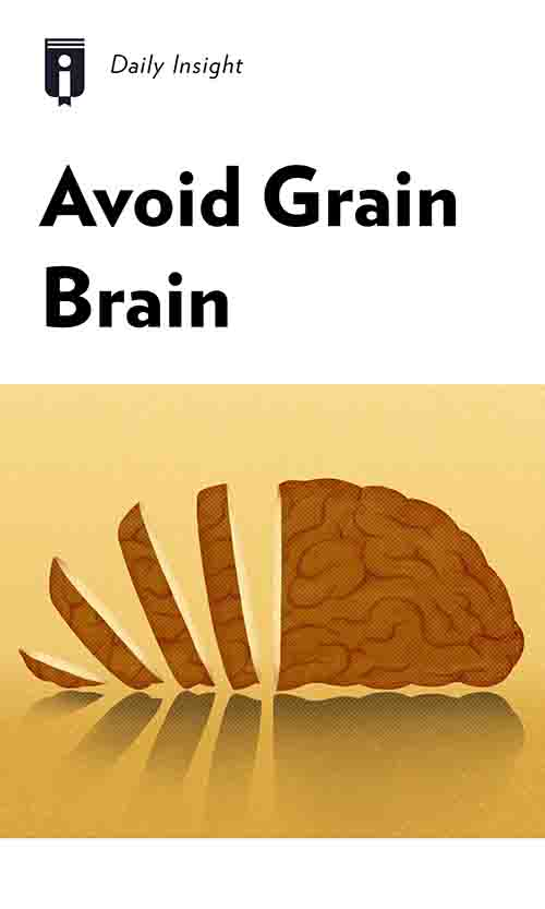 "Book Cover for ""Avoid Grain Brain"""