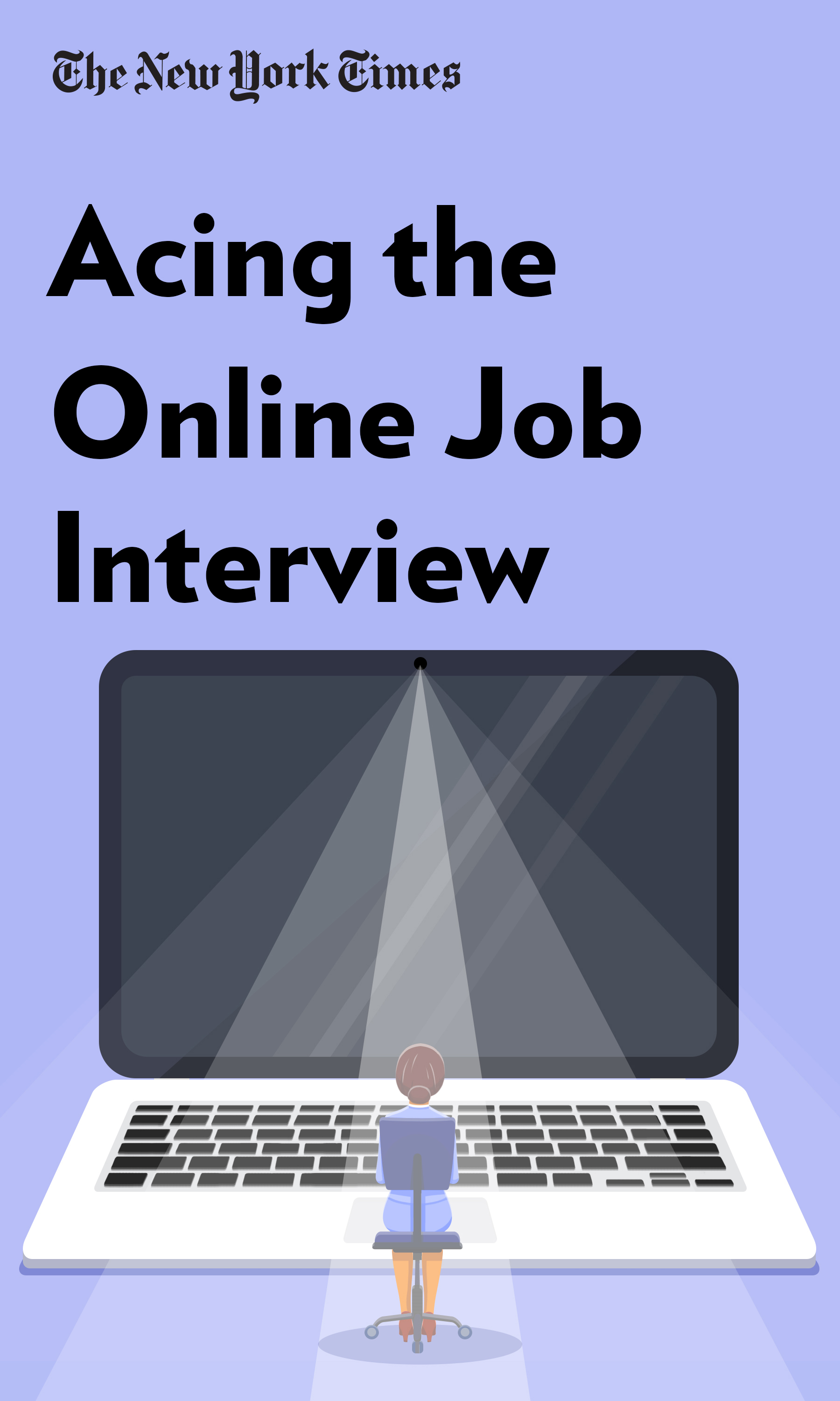"Book Cover for ""Acing the Online Job Interview"""